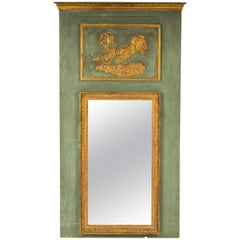 Early 19th Century Empire Trumeau Mirror