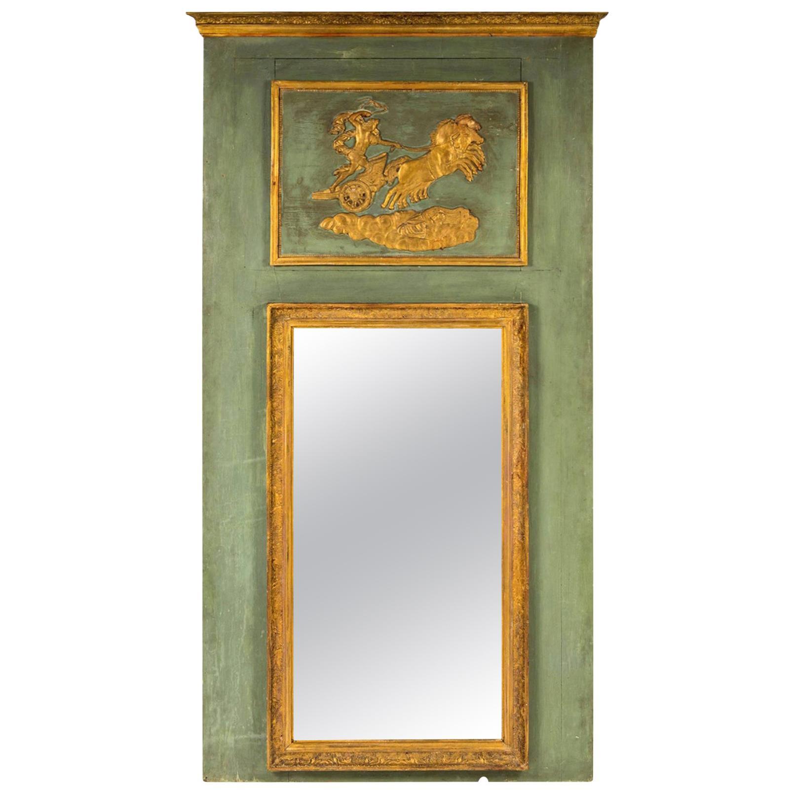 Early 19th Century Empire Trumeau Mirror