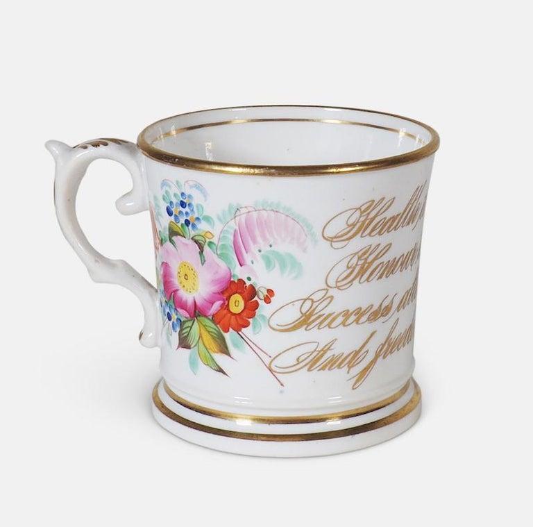 Early 19th Century English Abolitionist Anti-Slavery Mug For Sale 7