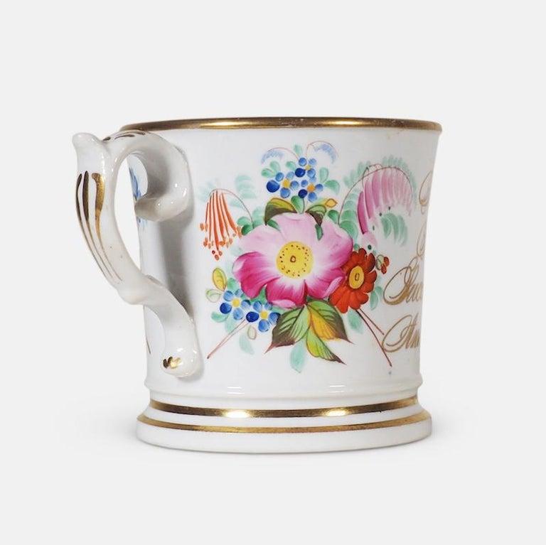 Regency Early 19th Century English Abolitionist Anti-Slavery Mug For Sale