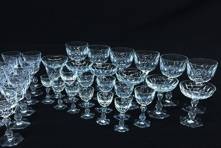 Early 19th Century English Crystal Cut Glass In Good Condition For Sale In Delft, NL