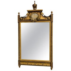 Early 19th Century English Gilt Pier Mirror with Original Mirror Glass