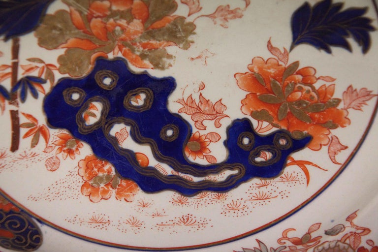 Early 19th Century English Ironstone Charger For Sale 5