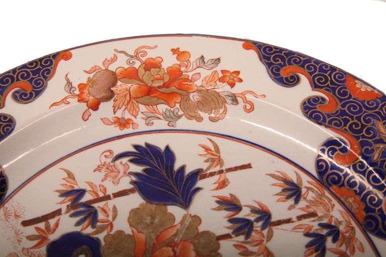 Early 19th Century English Ironstone Charger For Sale 3