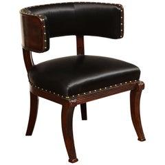 Early 19th Century English, Klismos Style Desk Chair