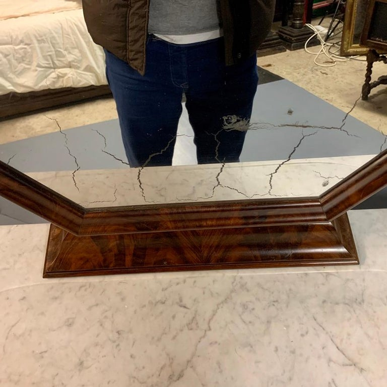 Early 19th Century English Regency Dressing Table with Original Marble 1