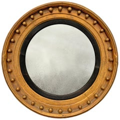 Early 19th Century English Regency Period Butler's Mirror