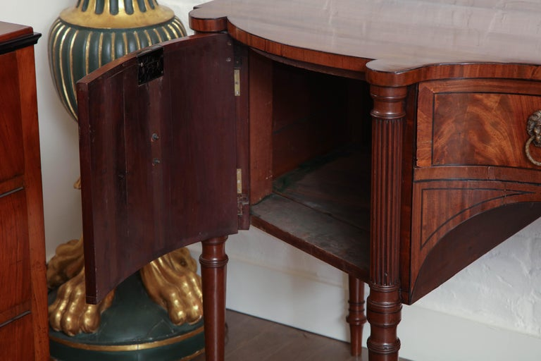 Early 19th Century English Regency Sideboard For Sale 3