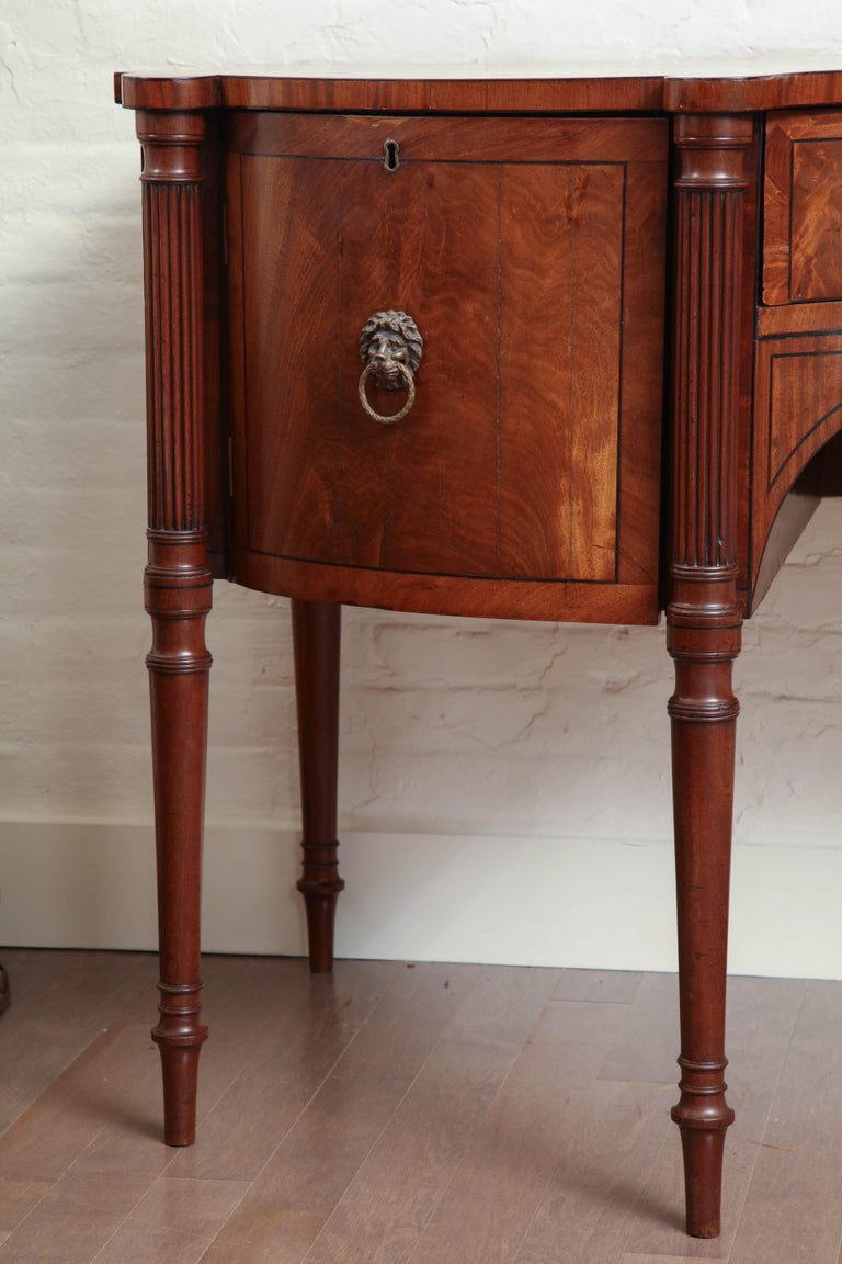 Early 19th Century English Regency Sideboard For Sale 4