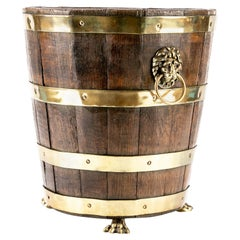 Early 19th Century English Regency Wine Bucket, circa 1810-1820