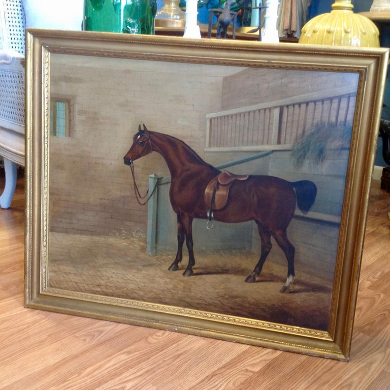 Early 19th Century English Study of a Horse For Sale 8