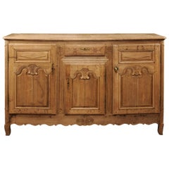 Early 19th Century French Bleached Oak Enfilade