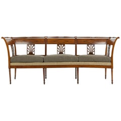 Early 19th Century French Cherrywood Sofa