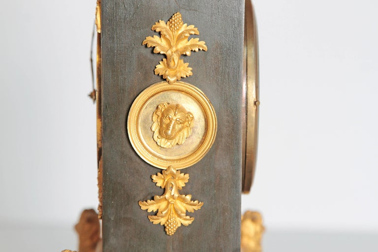 Early 19th Century French Clock with Putto For Sale 3