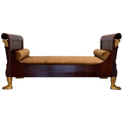 Early 19th Century French Empire Daybed