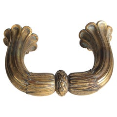 Early 19th Century French Gilt Bronze Door Pull
