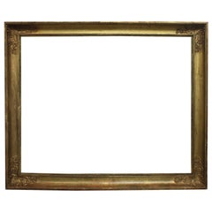 Early 19th Century French Giltwood Frame