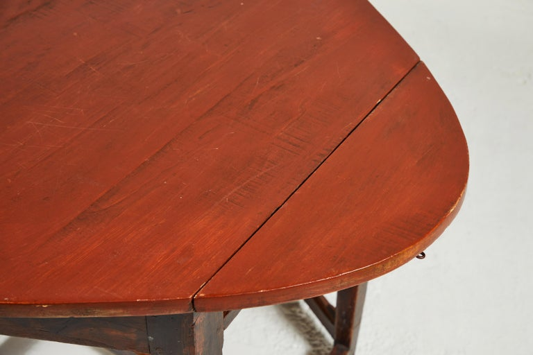 Early 19th Century French Hexagonal Table For Sale 6