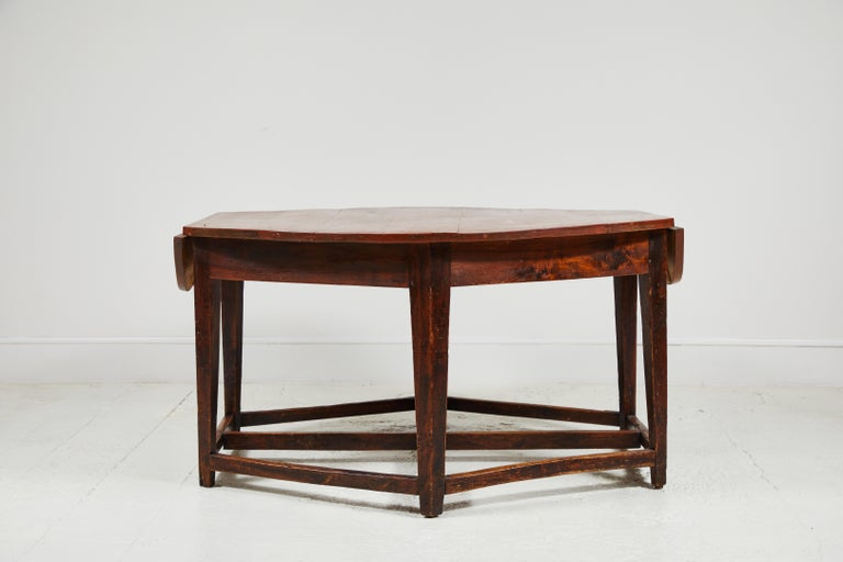 Early 19th Century French Hexagonal Table In Good Condition For Sale In Los Angeles, CA
