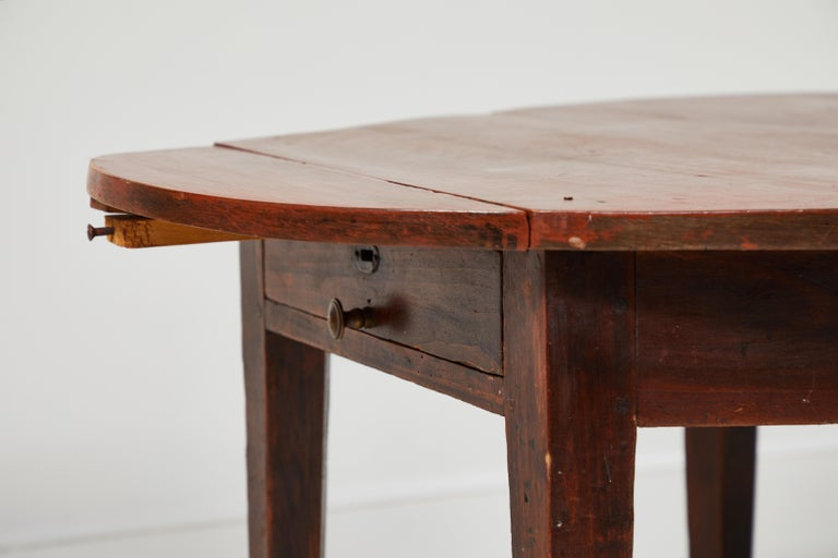 Early 19th Century French Hexagonal Table For Sale 1