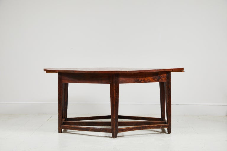 Early 19th Century French Hexagonal Table For Sale 2