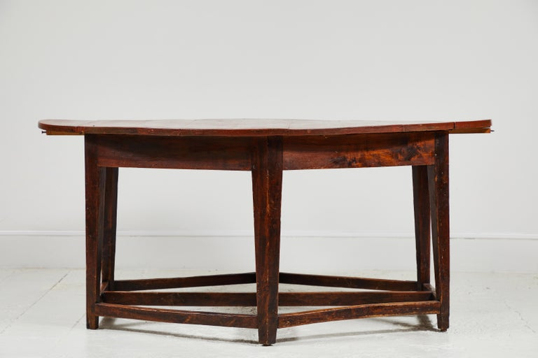 Early 19th Century French Hexagonal Table For Sale 3
