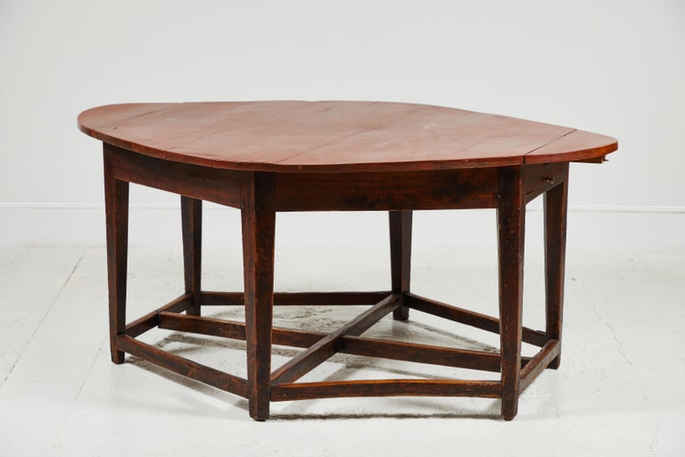 Early 19th Century French Hexagonal Table For Sale 5