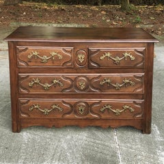 Early 19th Century French Louis XIV Walnut Commode