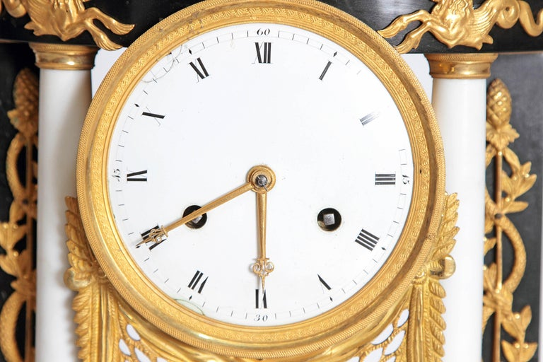 Early 19th Century French Neoclassic Clock For Sale 3