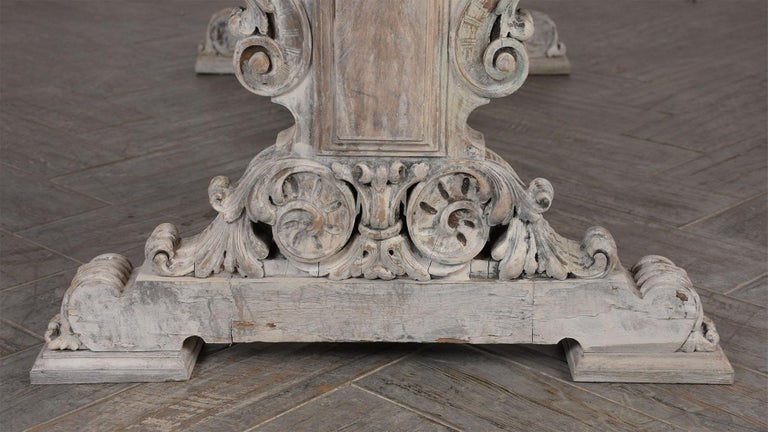 Early 19th Century French Renaissance Style Library Table For Sale 3