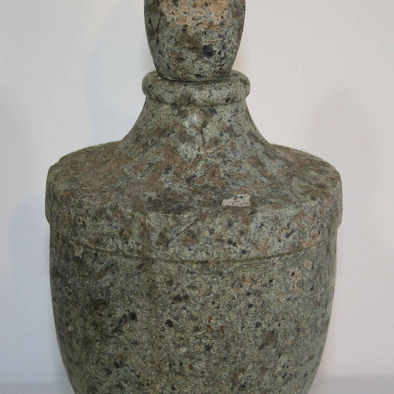 Early 19th Century French Stone Vase For Sale At 1stdibs