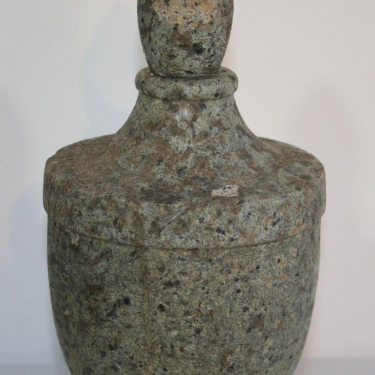 Early 19th Century French Stone Vase For Sale 2