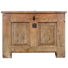 Early 19th Century French Wooden Trunk