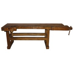 Cool Antique Workbenches 106 For Sale On 1Stdibs Caraccident5 Cool Chair Designs And Ideas Caraccident5Info