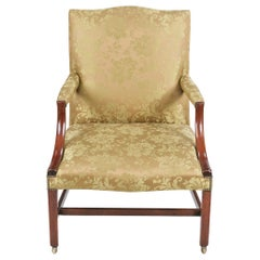 Early 19th Century Gainsborough Armchair after Chippendale