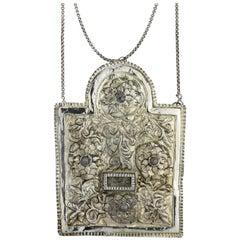 Early 19th Century Galician Silver Torah Shield