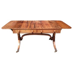 Early 19th Century George III Antique Sofa Table