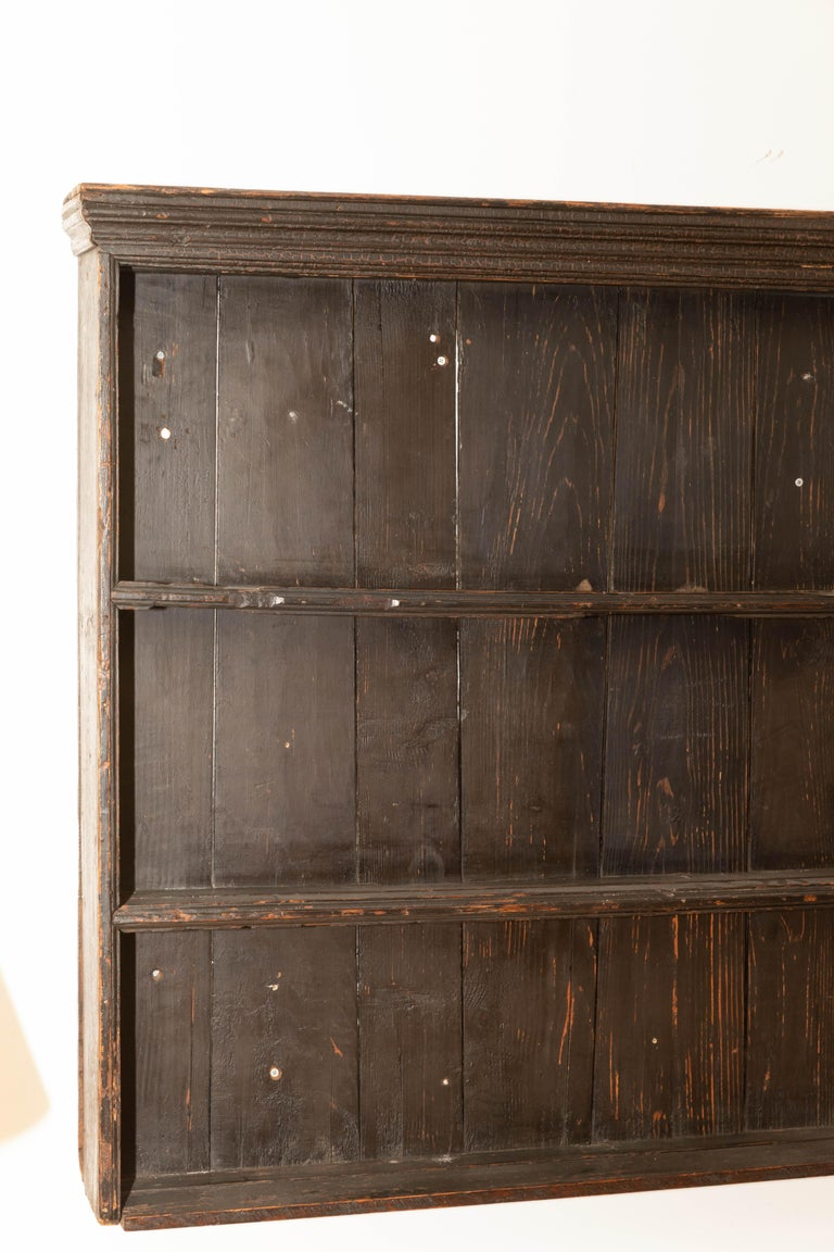 Early 19th Century George III Pine Plate Rack For Sale 1