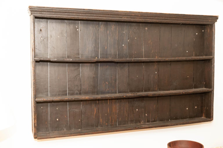 Early 19th Century George III Pine Plate Rack For Sale 2