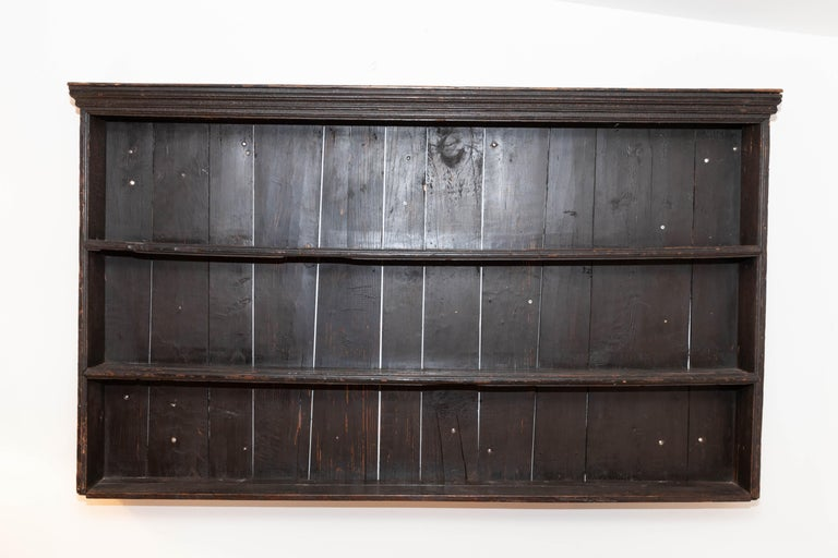 Early 19th Century George III Pine Plate Rack For Sale 3