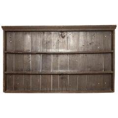Early 19th Century George III Pine Plate Rack