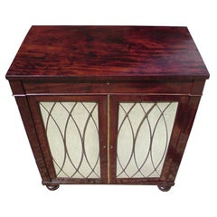 Early 19th Century George IV Period Mahogany Antique Chiffonier Cupboard