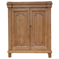 Early 19th Century German Provincial Cabinet made of Pine