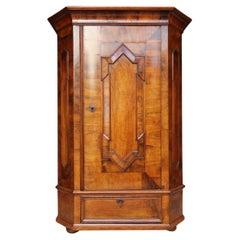 Early 19th Century German Single Door Baroque Cabinet
