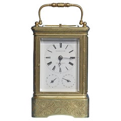 Early 19th Century Giant Petit-Sonnerie Carriage Clock