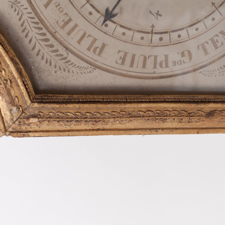 Early 19th Century Giltwood Barometer