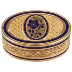 Early 19th Century Gold Vinaigrette