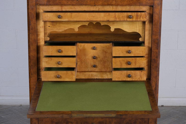 French 19th Century Louis Philippe Secretaire For Sale