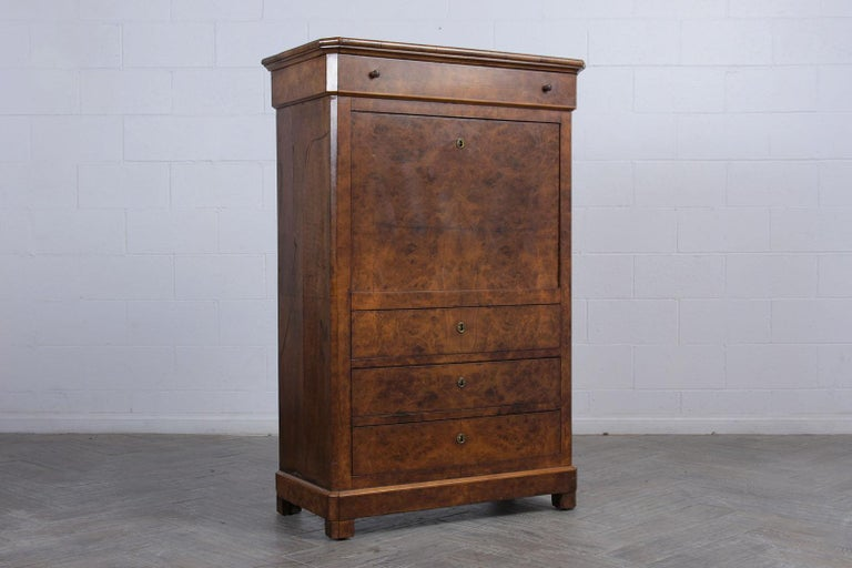 19th Century Louis Philippe Secretaire For Sale 3