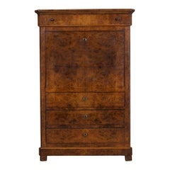 French 19th Century Louis Philippe Style Secretaire Abbatant